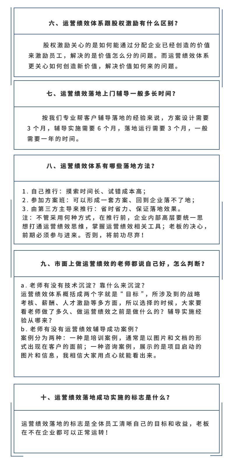 运营绩效落地上门辅导经典十问:(图2)
